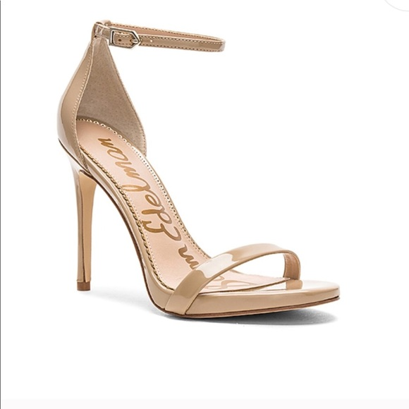e186682eaba191 NEW • Sam Edelman • Nadya Ankle Strap Heels Nude